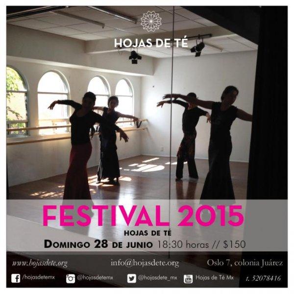 Festival 2015, Hojas de Té, Mexico City
