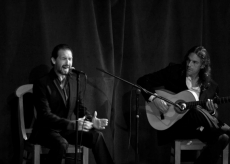 Javier Heredia & John Lawrence on guitar