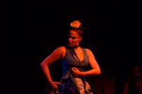 Eliza with the Juan Siddi Flamenco Theatre Co., 2012. Photo by Morgan Smith
