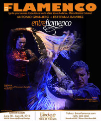 EntreFlamenco, Summer Season at The Lodge at Santa Fe