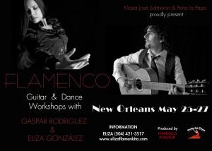 Flamenco Guitar & Dance Workshops with Gaspar Rodriguez & Eliza Gonzalez