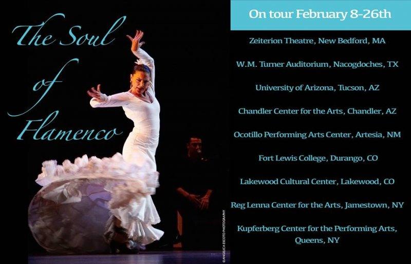 The 'Soul of Flamenco' National Tour, Winter 2015