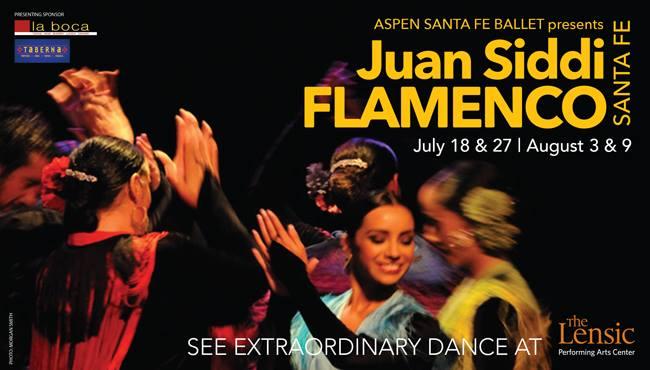 Juan Siddi Flamenco Santa Fe Company, 2014 Summer Season Tour