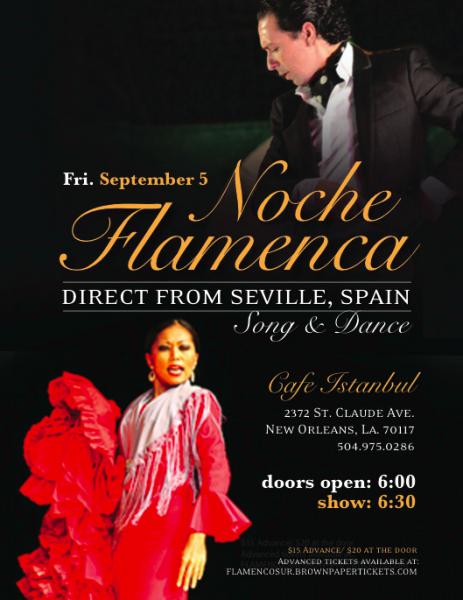 Noche Flamenca: Direct from Seville, Spain